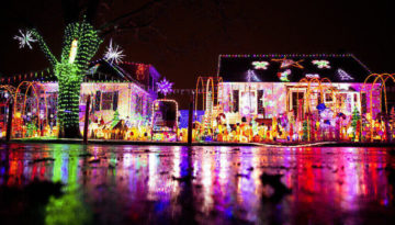 One of the best light displays in the UK